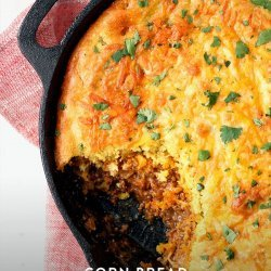 Corn Bread Tamale Pie