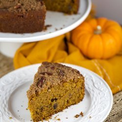 Pumpkin Pecan Coffee Cake