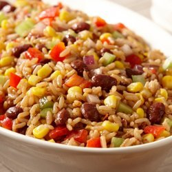 Red Bean & Rice Salad