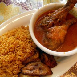 Nigerian Jollof Rice & Chicken