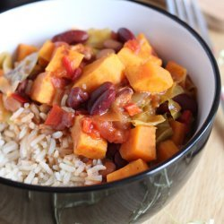 Caribbean Sweet Potato Stew