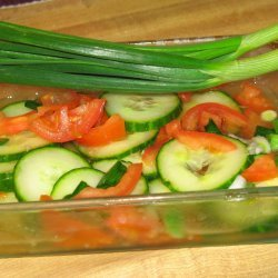 Yummy Cucumber and Tomato Salad
