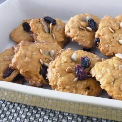 Low Calories Pumpkin Oat Meal Cookies recipe
