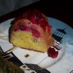 Cranberry Cake With Orange Sauce