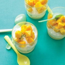 Mango-Lime Parfaits
