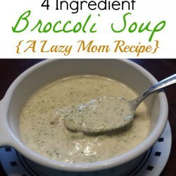 Mom's Broccoli Cheese Soup