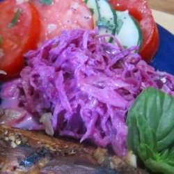 Red Cole Slaw recipe