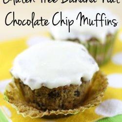 Gluten Free Chocolate Chip Nut Muffins