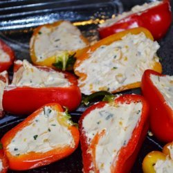 Cheese Stuffed Bell Peppers