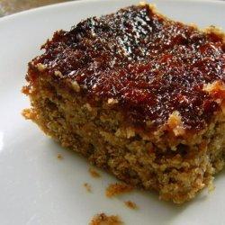 Three Bean and Flax Bars With Marmalade Glaze recipe
