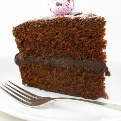 Rich Double Chocolate Cake