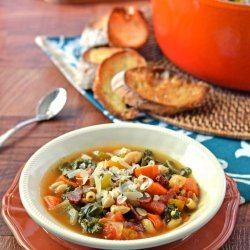 Minestrone Soup (White)