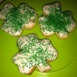 Cholesterol Free, Low Fat Cookies W/ Icing