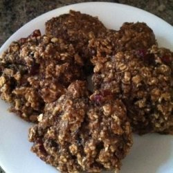 Vegan Low-Fat Breakfast Cookies