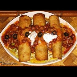 Crock Pot Shredded Balsamic Chicken Fajita Dinner