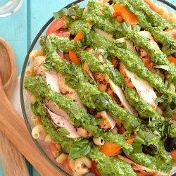 Veggie Chicken and Pasta Salad