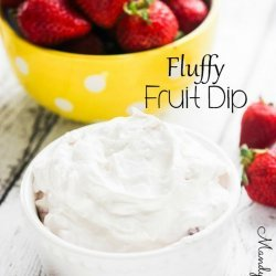 Fluffy Fruit Dip