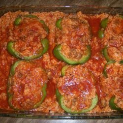 Quick & Easy Stuffed Green Bell Peppers