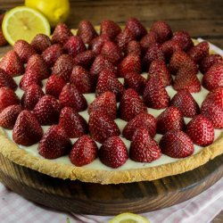 Strawberries With Cream Cheese Tart
