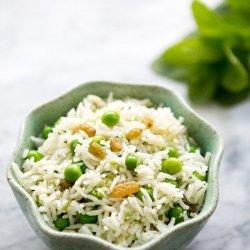 Pea and Rice Salad