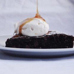 Gooey Double Chocolate Brownie Tart