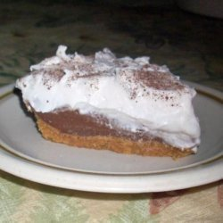 Haupia Chocolate Pie (Lighter Version) recipe