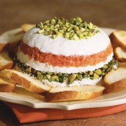 Goat Cheese and Smoked Salmon Torta