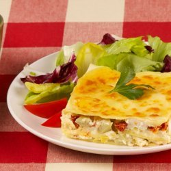 Artichoke & Sun-Dried Tomato Lasagna