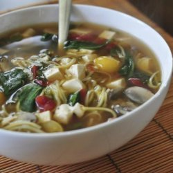 Healthy, Easy, and Cheap Ramen for One