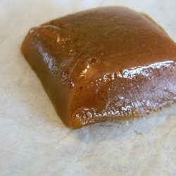 Apple Cider Creme Caramels