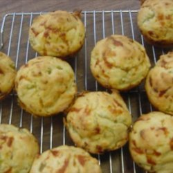 Mexican Popcorn Muffins recipe