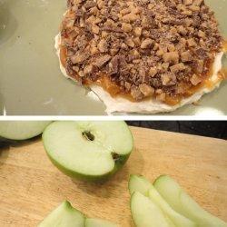 Caramel Apple, Cream Cheese Dip