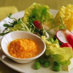 Miso,Ginger, Carrot Salad Dressing