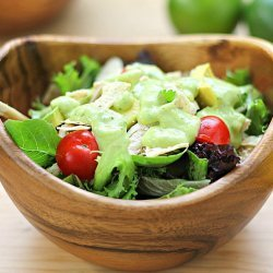 Southwest Chicken Salad with Lime Dressing