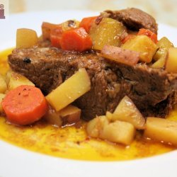 Beef & Potato Roast (Slow Cooker)