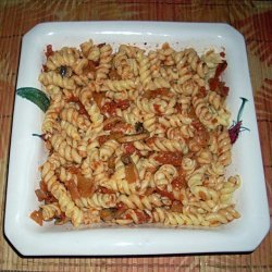 New Mexican Fire Roasted Tomato and Pepperoncini Pasta Sauce