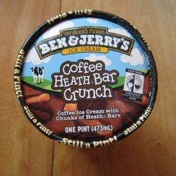 Coffee Heath Bar Ice Cream