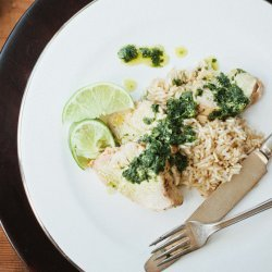 Chicken With Cilantro and Salsa Verde