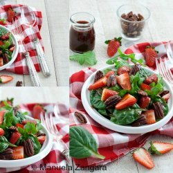 Strawberry Vinaigrette Salad recipe