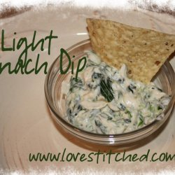 Light Spinach Dip