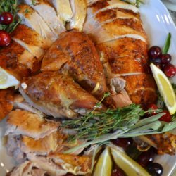 Lemon and Herb Roast Turkey