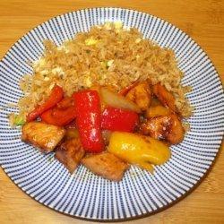 Ashley's Honey Chicken Stir-Fry