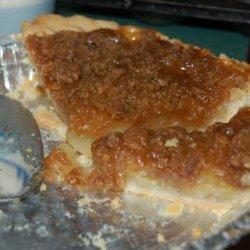 Pear Crumb Pie