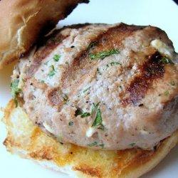 Feta Cheese Turkey Burgers