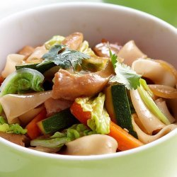 Teriyaki Chicken & Noodles