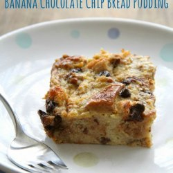 Breakfast Banana Bread Pudding
