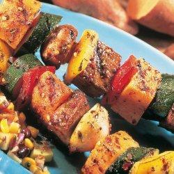 Beef & Vegetable Kabob