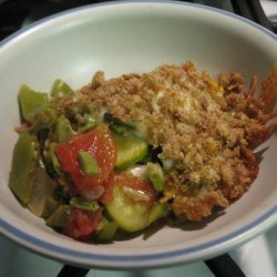 Vegetable and Bacon Casserole