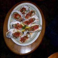 Beviers BBQ Oysters With Habanero Salsa recipe