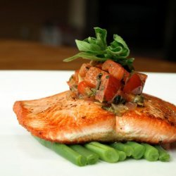 Seared Salmon With Pan Sauce